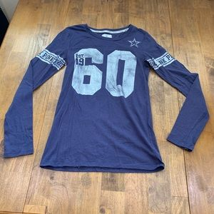 Victoria's Secret PINK Dallas Cowboys long sleeve